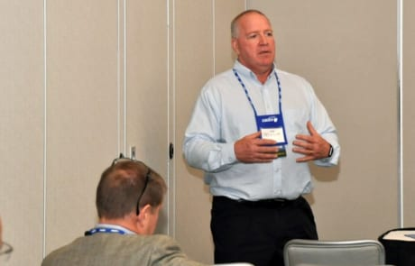 Joe speaking at the OASBO Facilities Conference